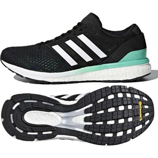nowy Czarne buty sportowe damskie Adidas do biegania z