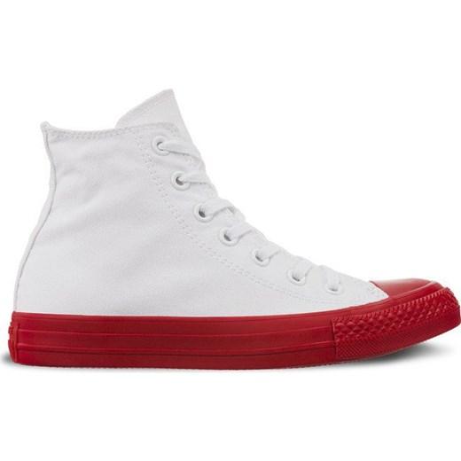 Trampki damskie Converse gładkie białe wiązane