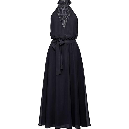 37e96914cb Sukienka Bodyflirt Boutique na sylwestra elegancka z dekoltem halter trapezowa  bez rękawów