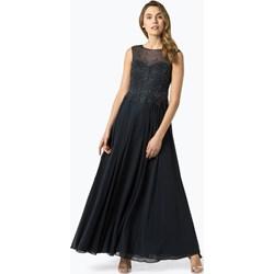 b233d2508e5b Sukienka Vera Mont Collection bez rękawów na karnawał z okrągłym dekoltem  maxi