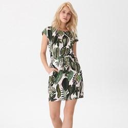 7951a38235 Sukienka House casualowa z okrągłym dekoltem z krótkim rękawem na spacer
