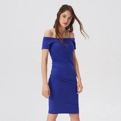 0fcbc9ea39 Sukienka Sinsay midi z odkrytymi ramionami