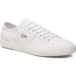 3d56eb04a Białe buty męskie lacoste sznurówki, lato 2019 w Domodi