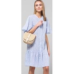 6c2194a50e1ae3 Sukienka Monnari midi z bawełny z krótkim rękawem