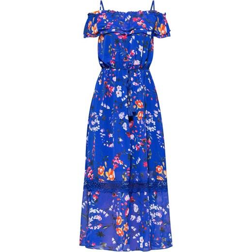 dd08d9b91f Sukienka Monnari maxi niebieska wiosenna na spacer w Domodi