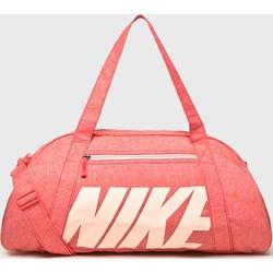 cabf64426ffa8 Różowa torba sportowa Nike z poliestru