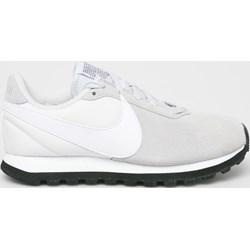 f0b9b90351938 Buty sportowe damskie Nike Sportswear do fitnessu sznurowane ze skóry bez  wzorów płaskie