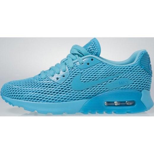 Buty sportowe damskie Nike dla biegaczy niebieskie na