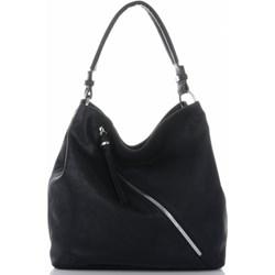 ca748b3fca953 Shopper bag David Jones ze skóry ekologicznej elegancka