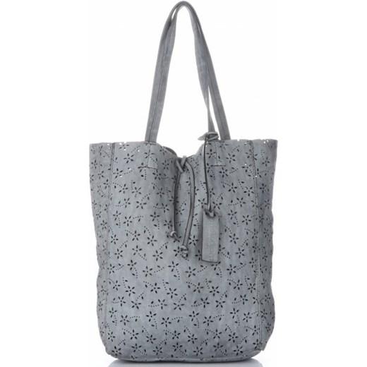 a609d78e7002c Shopper bag Vittoria Gotti duża skórzana casual w Domodi