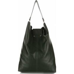 52e586909b7eb Torba Skórzana Duży Shopper Bag XXL Zielona (kolory) - zdjęcie produktu