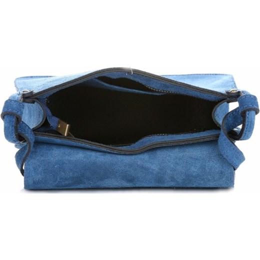 d8b239e66b842 Torebki Listonoszki Skórzane Firmy Genuine Leather Niebieska (kolory)  PaniTorbalska 8