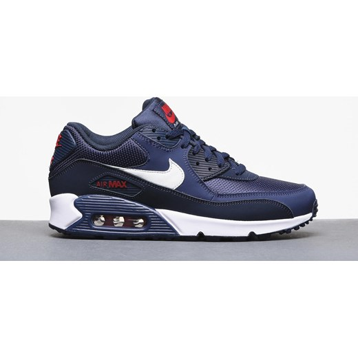 premium selection 57a6f dec2b Buty Nike Air Max 90 Essential (midnight navy white university red) Nike  45.5 ...