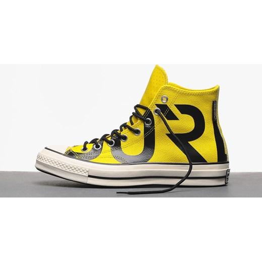 Trampki męskie żółte Converse młodzieżowe gore tex wiązane w
