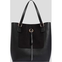 4010fbaff8caa Shopper bag ORSAY matowa na ramię ze skóry ekologicznej