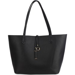 bb873f79195ed Shopper bag w stylu glamour czarna