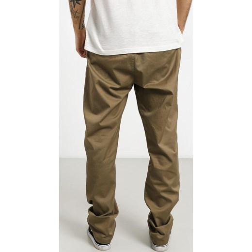 70% ZNIŻKI Spodnie męskie Rvca Odzież Męska QW brązowy