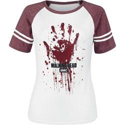 6f80027c2 EMP. Bluzka damska The Walking Dead z okrągłym dekoltem biała