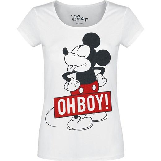 a5dc39bfb17d71 Myszka Miki i Minnie - Oh Boy - Koszulki - biały Myszka Miki I Minnie M