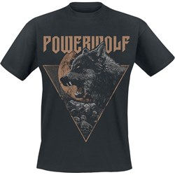 T-shirt męski Powerwolf z nadrukami
