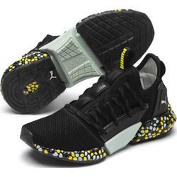 a172843322 Buty sportowe damskie czarne Puma do biegania na płaskiej podeszwie