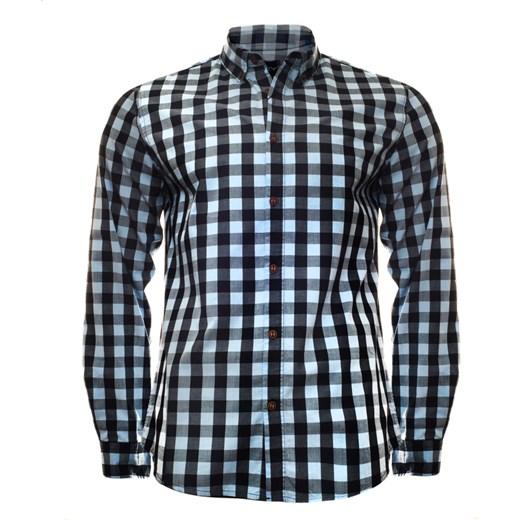 najlepszy Koszula męska Just yuppi w kratkę Odzież Męska QF  NsSfg