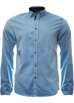 Klasyczna koszula męska w kolorze niebieskim  Just yuppi okazja NIREN  - kod rabatowy