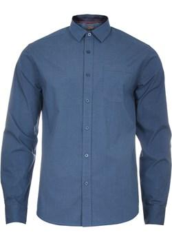 Koszula męska w kolorze ciemno-jeansowym Just yuppi  wyprzedaż NIREN  - kod rabatowy
