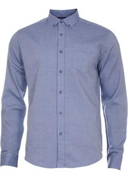 Klasyczna koszula męska w kolorze błękitnym  Just yuppi wyprzedaż NIREN  - kod rabatowy
