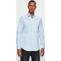 af23ad5f4 Koszula męska niebieska Lacoste z długimi rękawami