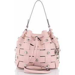 d4c93af38c23aa Vittoria Gotti shopper bag glamour średnia skórzana bez dodatków