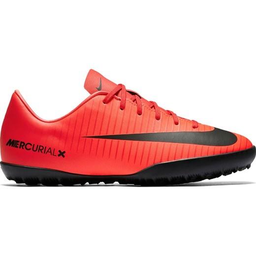 Buty sportowe męskie Nike Football mercurial czerwone wiązane