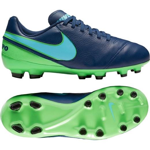 oficjalny sklep fantastyczne oszczędności niezawodna jakość Buty sportowe męskie Nike Football sznurowane skórzane wiosenne