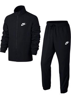 Dres męski Nike M NSW Track Suit Woven Basic czarny 861778 010  Nike SWEAT - kod rabatowy