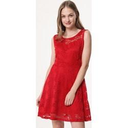 f5bf5ba97074 Sukienka Born2be casual na wiosnę koronkowa