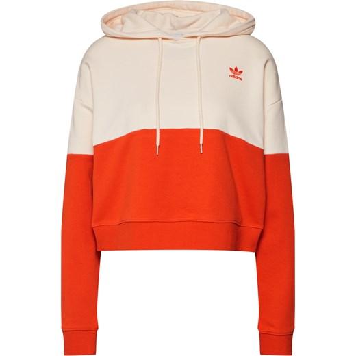 ff7833d1e Bluza damska Adidas Originals krótka w sportowym stylu w Domodi