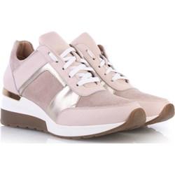73e2bdef8ece Sneakersy damskie Arturo Vicci na koturnie ze skóry bez wzorów