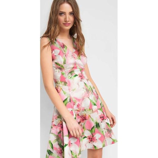 c600a4d1c5 Sukienka wielokolorowa ORSAY midi w Domodi