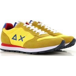 5817889051367 Buty sportowe męskie Sun68 młodzieżowe sznurowane z zamszu