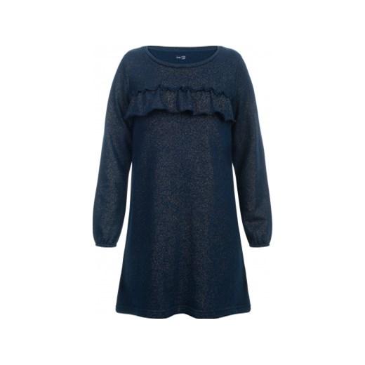 a18f5e8d57 Sukienka dziewczęca granatowa Endo  Sukienka z długim rękawem dla dziewczynki  3-8 lat ...