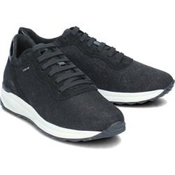 353ff2ff70518 Buty sportowe damskie Geox sneakersy w stylu młodzieżowym sznurowane płaskie