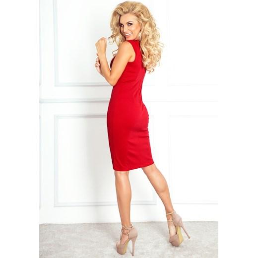 e76e067606 ... 53-17a nowa dopasowana sukienka - czerwona XL Moda Dla Ciebie ...