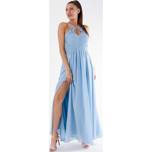 8de2065176 Sukienka maxi na bal w Domodi