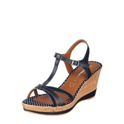 1ba6c8d0 Granatowe sandały damskie, lato 2019 w Domodi