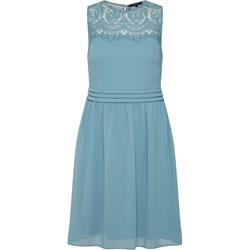 6703341b14 Sukienka Vero Moda prosta na sylwestra bez rękawów z okrągłym dekoltem