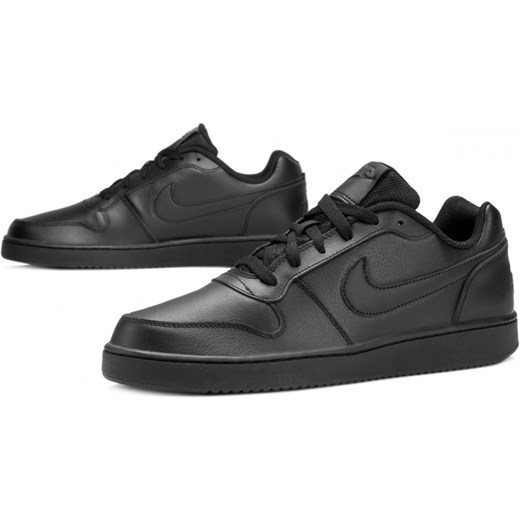 dobra jakość Buty sportowe męskie Nike czarne na wiosnę Buty