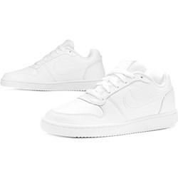 99fefdbe5966 Buty sportowe damskie Nike płaskie na wiosnę wiązane gładkie