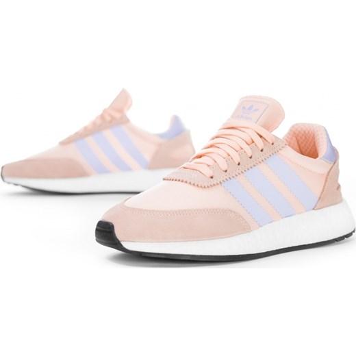 sprzedaż Buty sportowe damskie Adidas sznurowane ze skóry