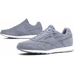 47ba991426fa74 Reebok buty sportowe damskie do biegania sznurowane niebieskie bez wzorów  na płaskiej podeszwie