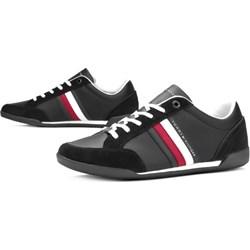 2bf03e96b4050 Tommy Hilfiger buty sportowe męskie sznurowane zamszowe na lato